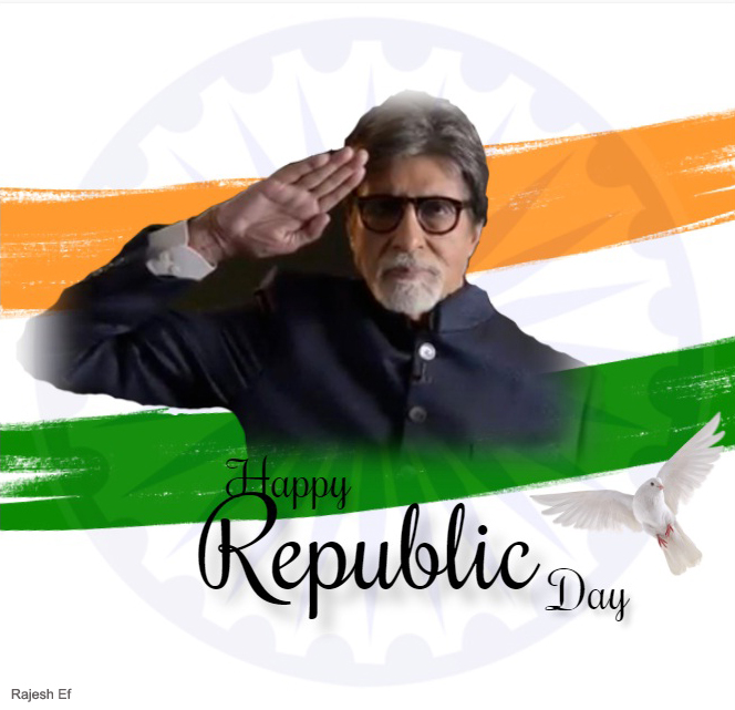 T 3794 - 26th January .. Republic Day 🇮🇳🇮🇳🇮🇳🇮🇳🇮🇳🇮🇳🇮🇳 Happiness peace prosperity and .. be safe .. be protected