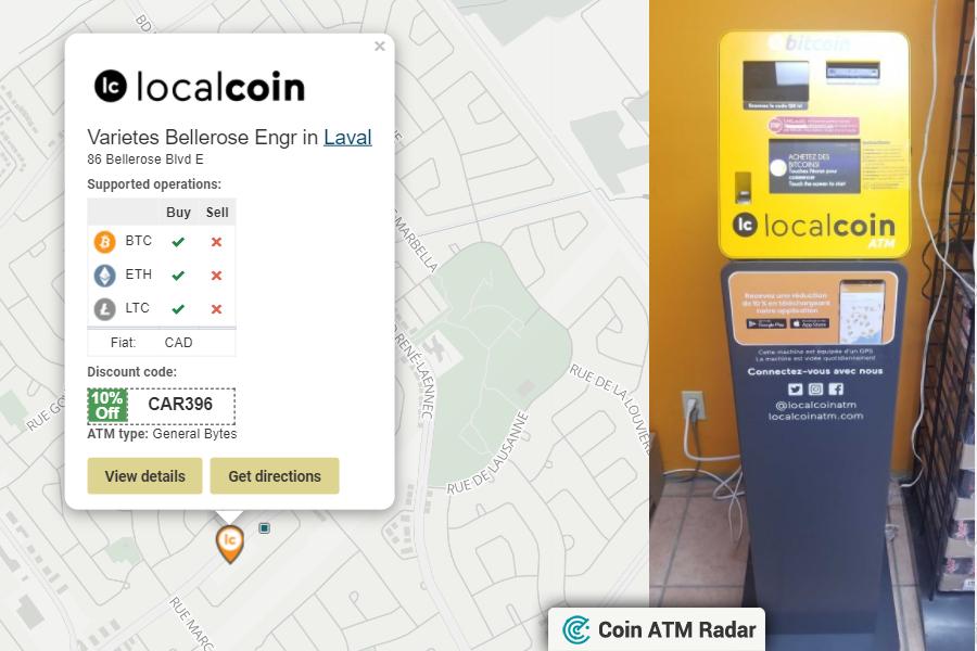bitcoin atm laval