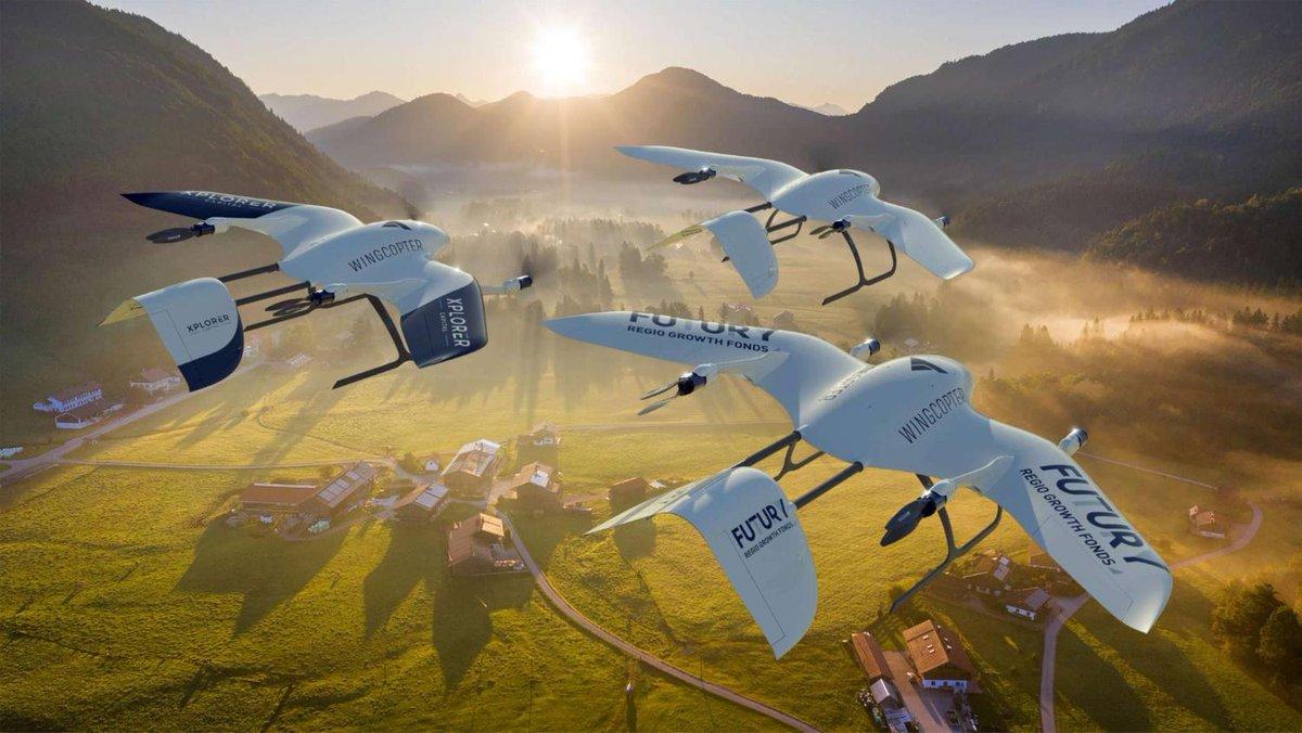شركة المانية ناشئة تصنّع طائرات #درون لنقل #اللقاحات