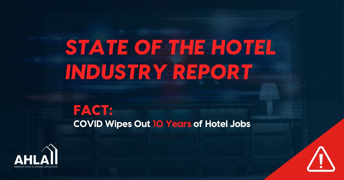 Our #StateoftheIndustry report finds covid-19's impact on travel will continue long beyond this year. #hotels were one of the first industries affected by the pandemic and will be one of the last to recover.  Full report: