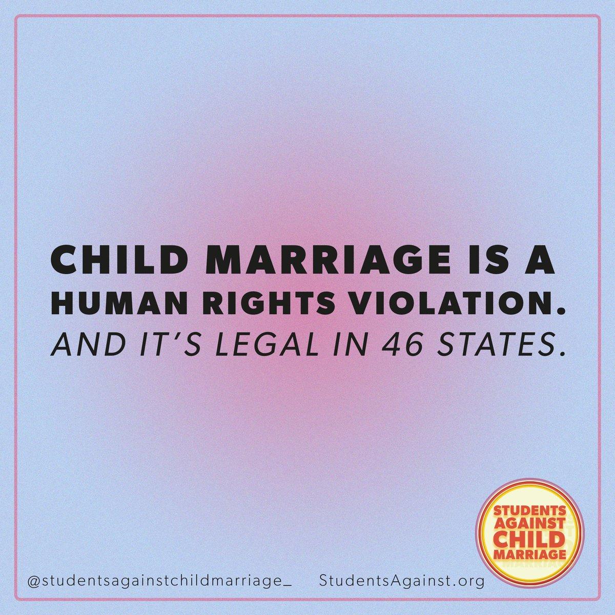 #EndChildMarriage @ChildMarriageUS