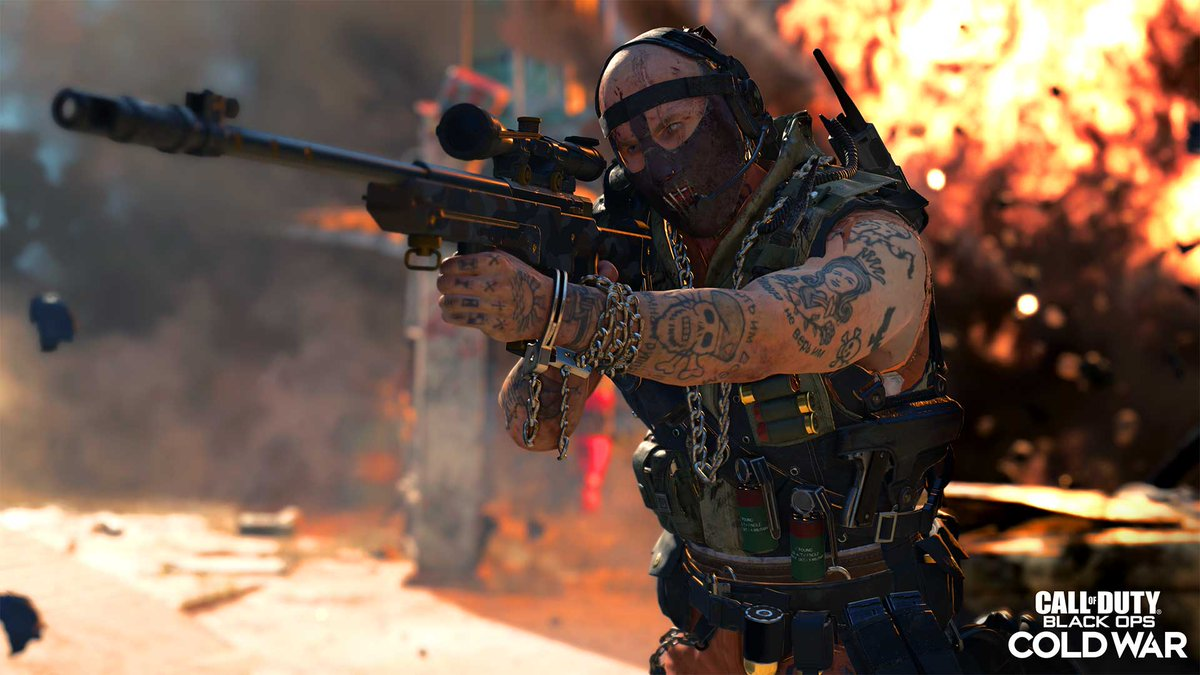 3v3 Gunfights Snipers Only playlist coming to Black Ops Cold War on Jan. 28.