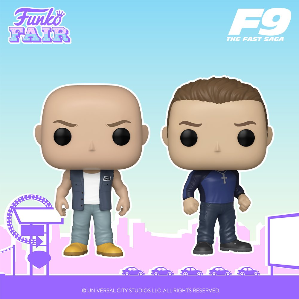 Drifting into the Funko Fair 2021 lineup : Fast and Furious 9!🏎💨 Pre-order yours now!  #FunkoFair #Funko #F9 @TheFastSaga
