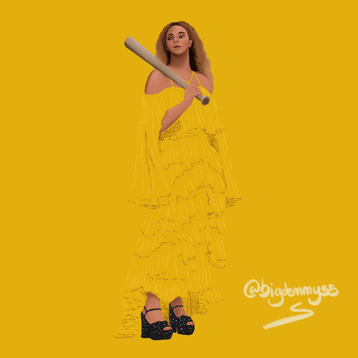 Dessin de Beyonce  J'ai plus de dessins sur ma compte insta: bigdenny55  #dessin #Beyonce #lemonade #sketch