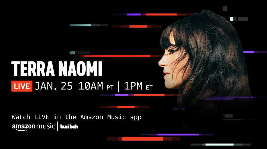".@terranaomi is going live performing her newly released cover of Bob Dylan's ""The Times They Are A-Changin'"". 🎸 Tune in for some originals and covers of indie, rock and folk songs! Watch in the Amazon Music app ➡️"