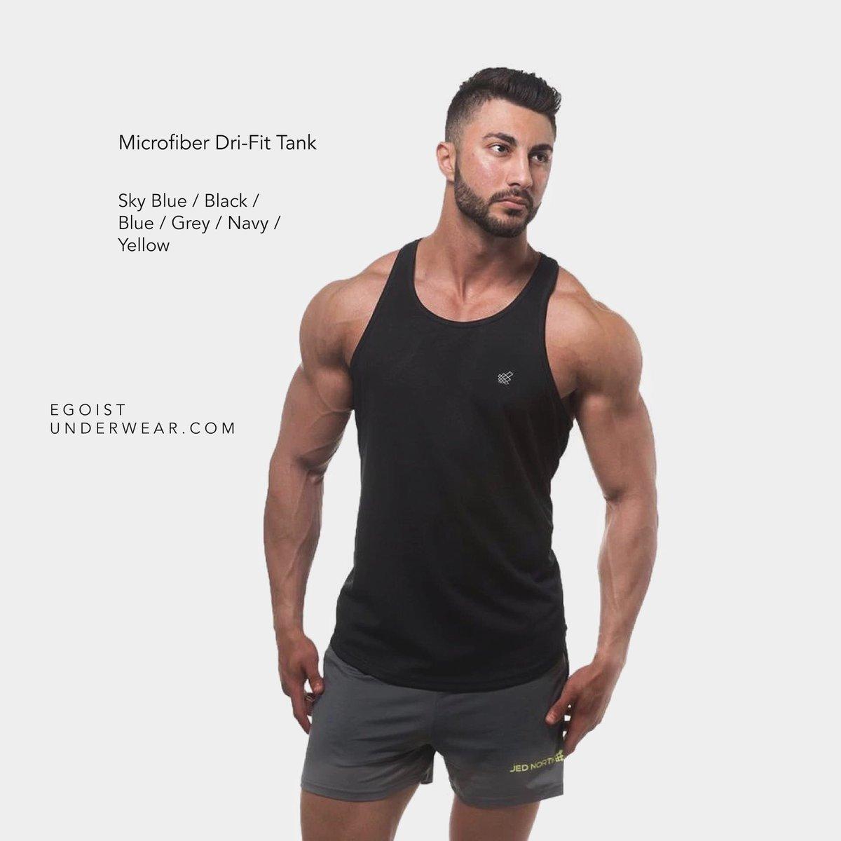 Workout Essentials 👉🏼  (Dri-Fit tank tops)  #mensfashion #chicago #boystown #northalsted #workoutwear #gayusa #gayfashion #Gym #mens #tops #microfiber #gaychicago #gay #gaymuscle #tanks #gayfit #tanktop #menswear #gayla #gayusa #gaymiami #gaygym #tanktops