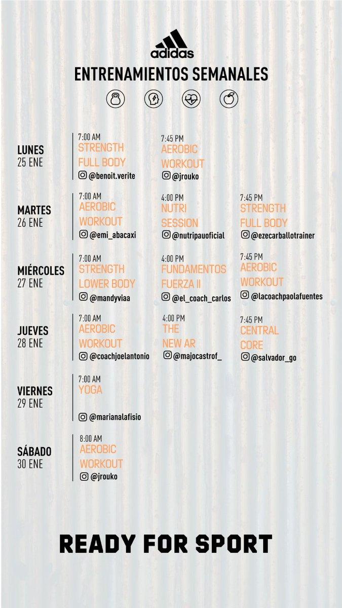 🏃♀️🏃♂️👍🙂👉¡Realiza los entrenamientos virtuales de @adidasMX con el equipo adidas Runners Mexico City, semana del 25 al 30 de enero!   #adidas #adidasrunnersmexicocity #adidasMéxico #ReadyForSport #ReadyToRun #HomeTeam #Enero2021 #Corre #Run #Running #RunningLife #Nadatedetiene