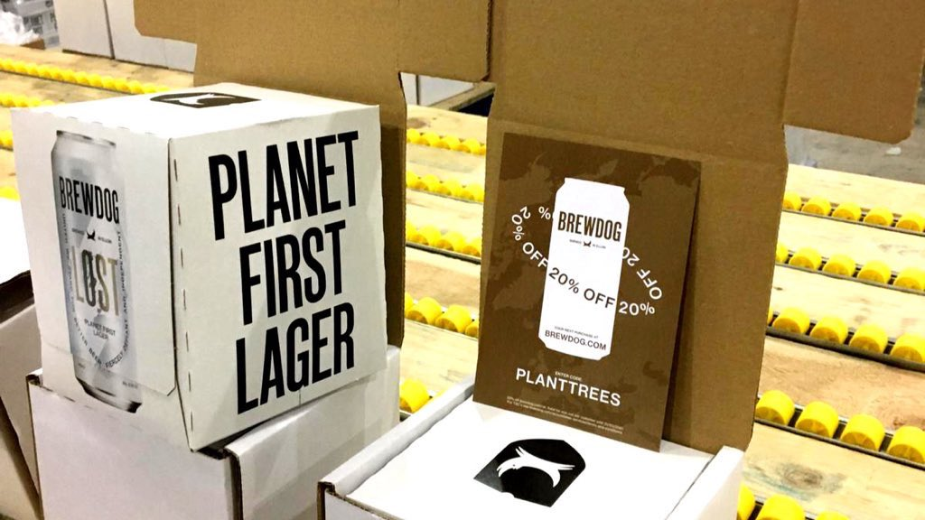 The first 2 boxes of our crazily popular LOST Lager give-away are ready to ship! Only another 286,463 to go 🙃 And for every single box we are planting one extra tree 🌳🌎🍻
