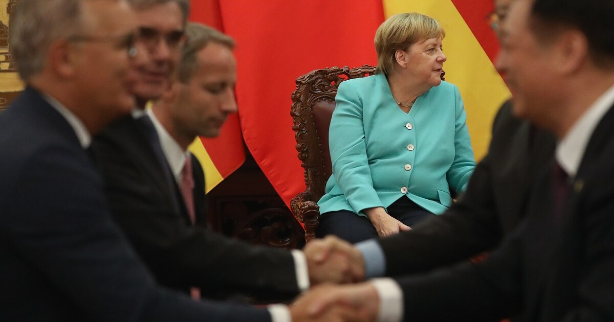 Germany scrambles to offer Biden common ground on China