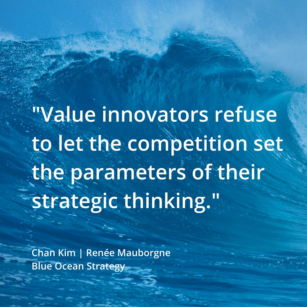 Does this sound like you? #MondayMotivation #BlueOceanStrategy #BlueOceanShift