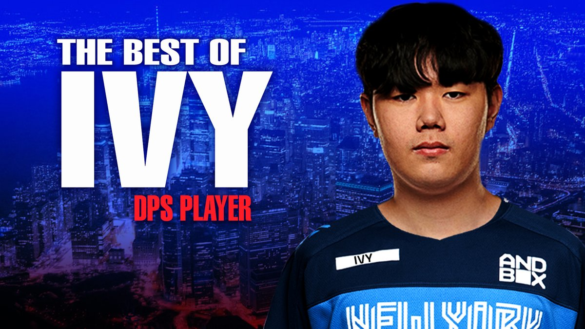 NYXL - A bunch of second-place finishes in major Overwatch League competitions has @owivy2 hungrier than ever. Take a look at some of the best plays of his career. #EverUpward