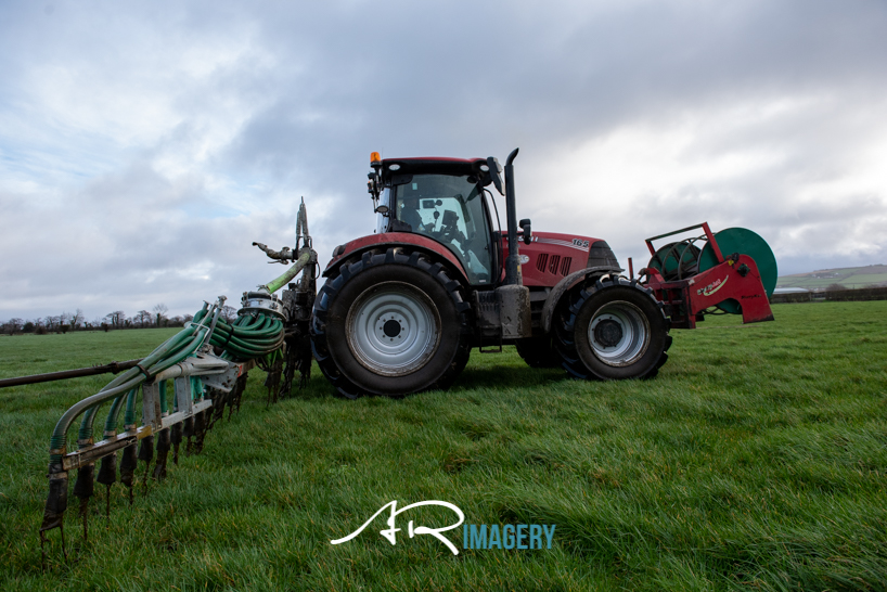 Nearly there for the start of #slurry 2021 #tjmontgomery #agquip #caseih #michelin  #arimagery #farming #agri #slurry #grass #umbilical