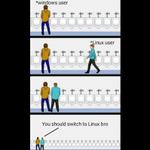 Image for the Tweet beginning: #Windows #Linux
