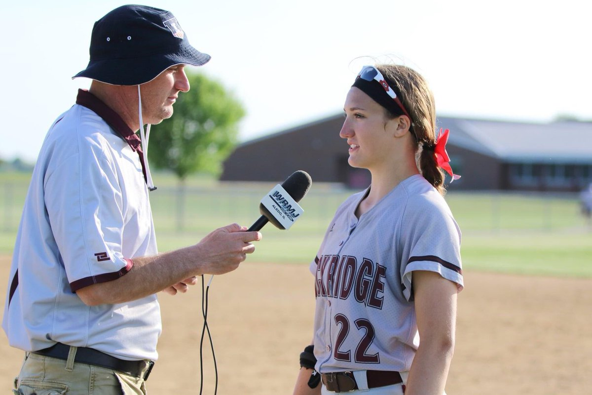 Happy Birthday to the one and only @wrmj2 Jim Taylor. Whether you're on the mean streets of Hampton or the south side of Aledo, Have a great day and thanks for covering @RockridgeSftbll & @rockridgesports. #makeawish #pioneer #playbyplaymaster