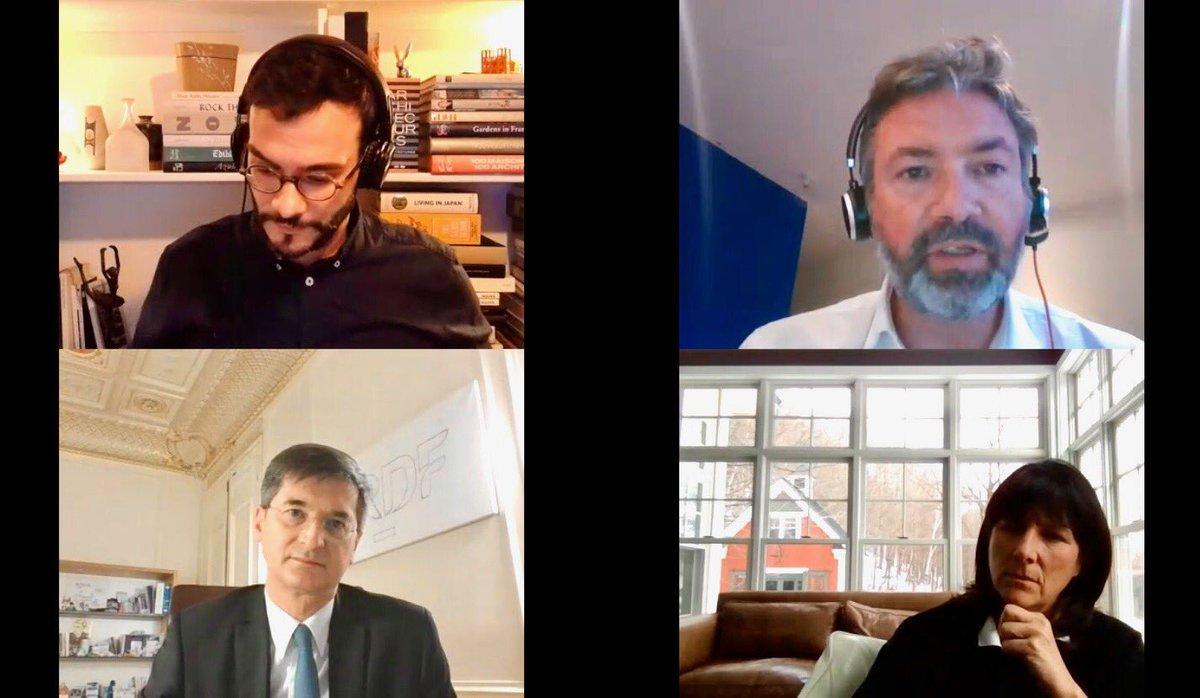 """.@ar_leroy : """"Le potentiel du #GazVert est assez considérable à l'échelle nationale. Constituer une vraie filière est, je pense, un vrai enjeu industriel qu'il ne faut pas minorer et sur lequel l'@ademe est en partenariat avec #GRDF et d'autres."""" #Biométhane #Energie #GRDFlive https://t.co/HoldtVlPF8"""
