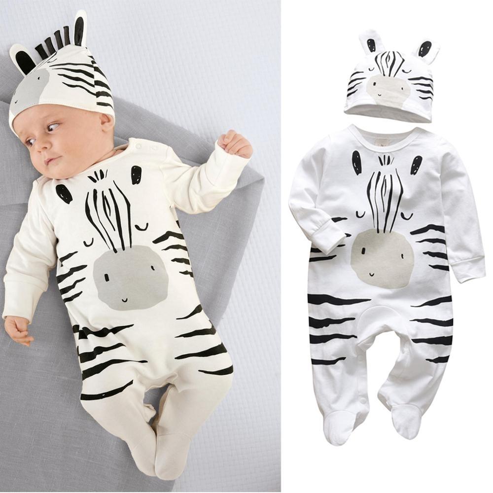 #denim #streetstyle Baby's Creative Romper with Beanie