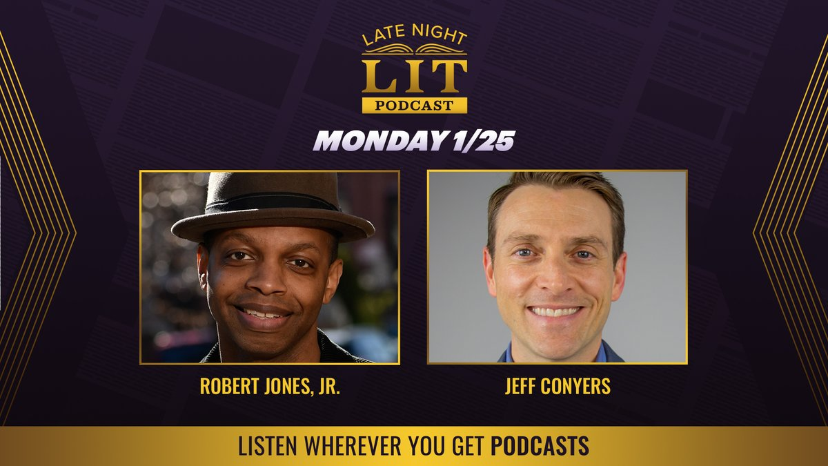 New episode of our #LateNightLit podcast! Our own @sarahjenksdaly speaks with Robert Jones, Jr. (@SonOfBaldwin) and Jeff Conyers, president of the Dollywood Foundation. Plus, book recommendations from a few #LNSM staffers' adorable kids.
