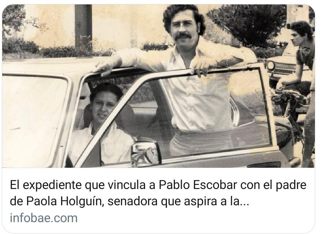 ¿Relación del uribismo con el narcotrafico? #RevocatoriaAlUribismo, Duque ganó la presidencia, con apoyo de un narco, Ñeñe, no repitan la historia con Holguín, su papá tuvo relación con Escobar. Colombia, no más narquitos en la política!