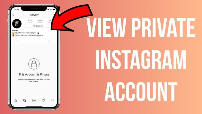 Viewing private #Instagram is a wish for stalkers or users who are just interested in finding out about what is going on on someone's account. Below are all the ways to view someone's private account😁👇  #instagood #instagramers #instagramdown #socialmedia