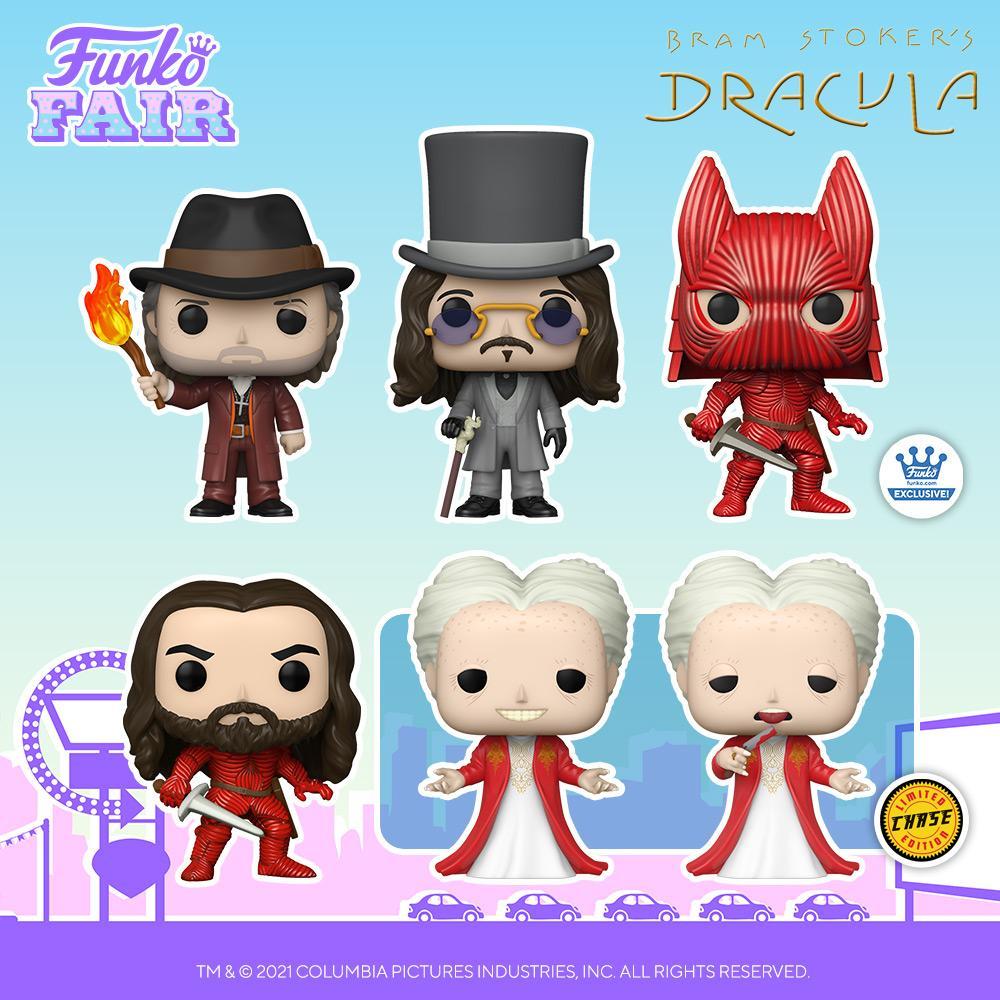 Funko Fair 2021: Bram Stoker's Dracula! Pre-order yours now!  #FunkoFair #Funko #Bramstokers #Vampires #Dracula @BramStokersDrac