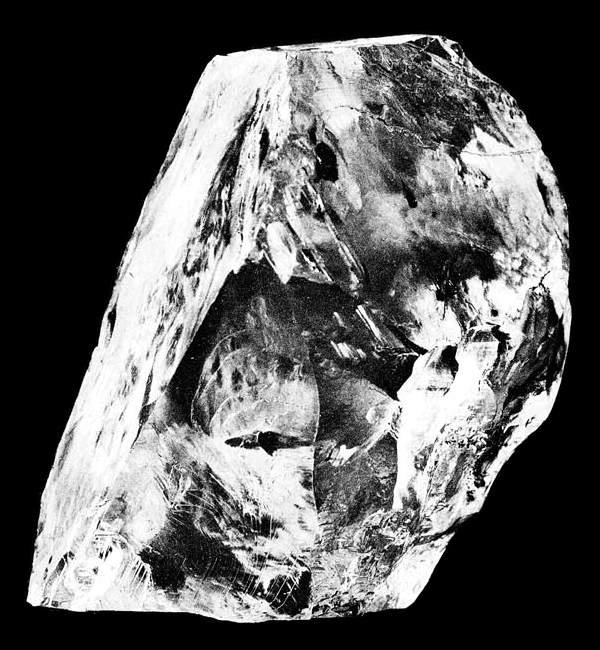 On Jan 26, 1905 – The world's largest diamond ever, the Cullinan weighing 3,106.75 carats (0.621350 kg), is found at the Premier Mine near Pretoria in South Africa.