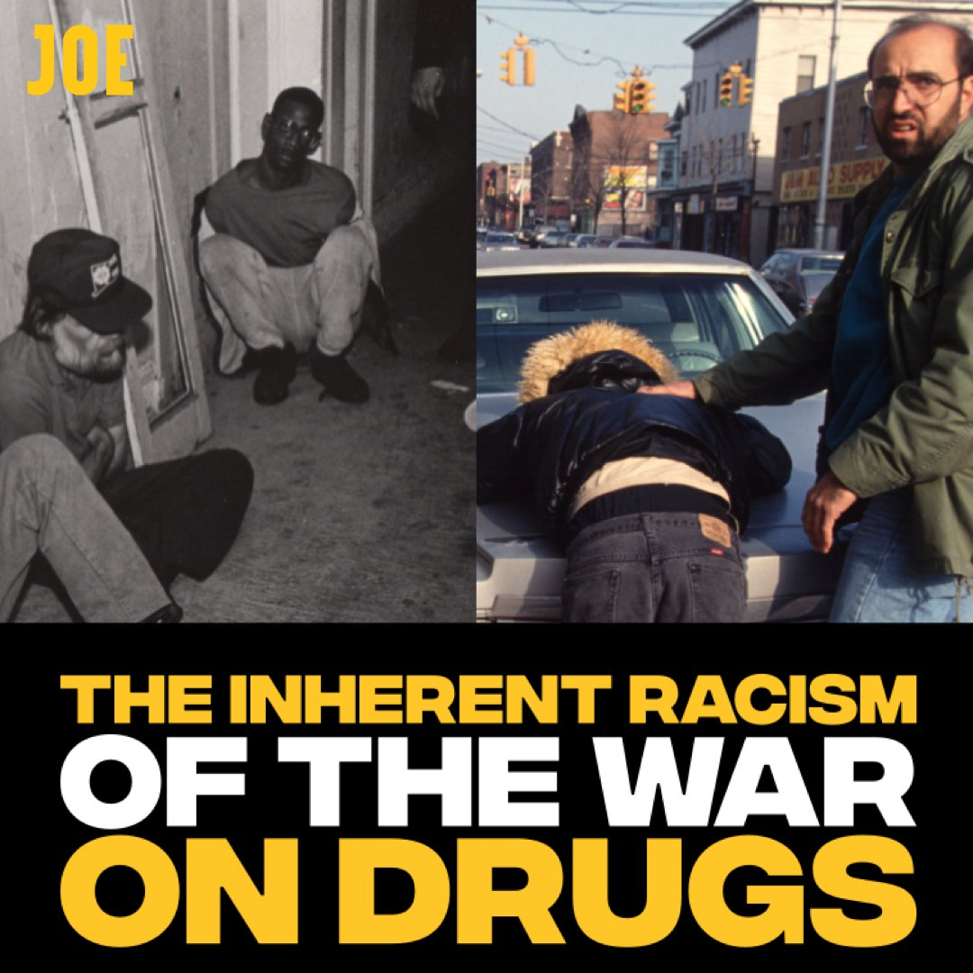 Former undercover police officer Neil Woods told me how drug laws have their roots in racism. For example, cannabis was renamed marijuana in the USA in an attempt to stigmatise the Hispanic community.