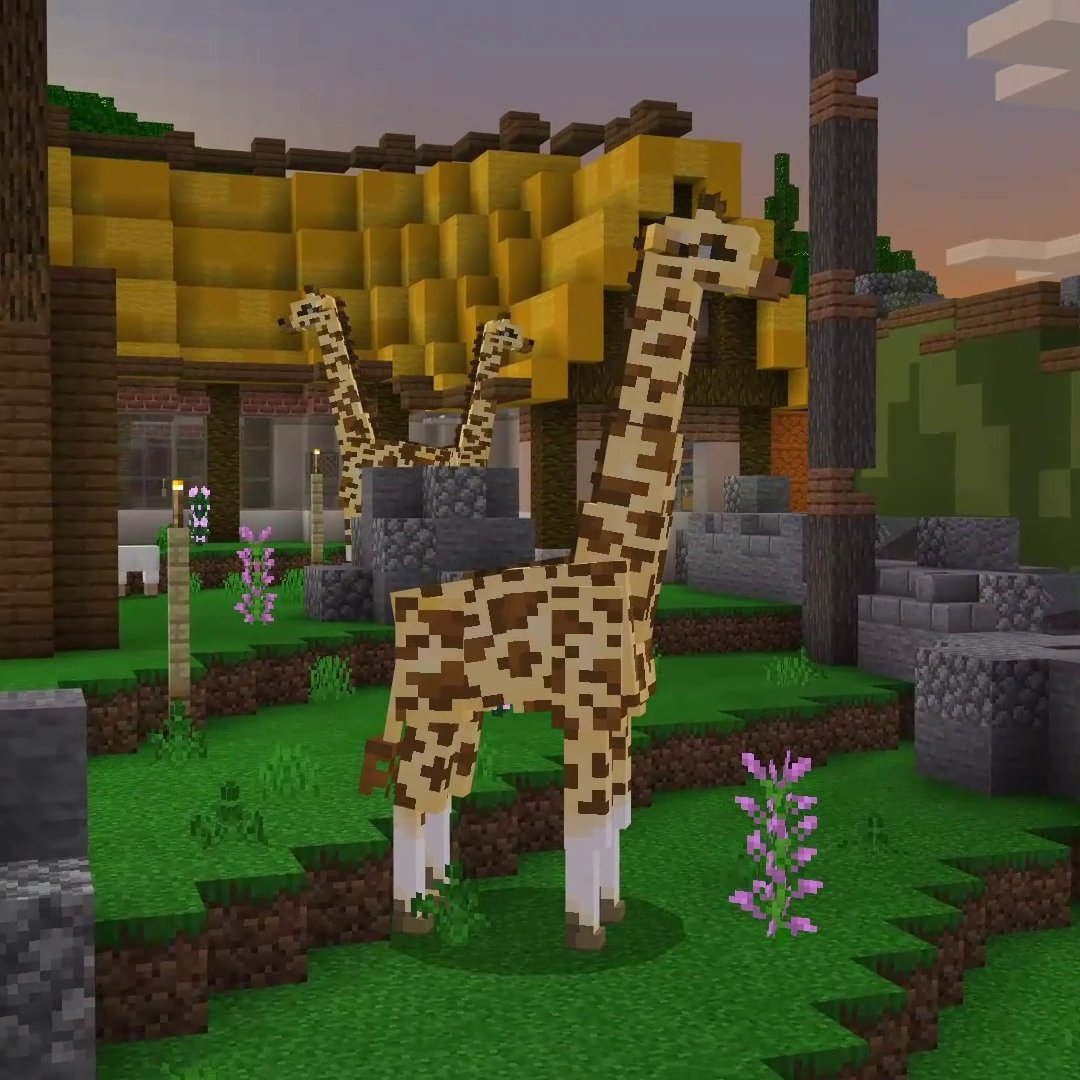 ICYMI on @MinecraftMarket: Animal Life by Pathway Studios. Explore this busy wildlife park, complete challenges and make sure you keep the animals happy and healthy!   Will you become the most knowledgeable animal expert out there?  ↣  ↢