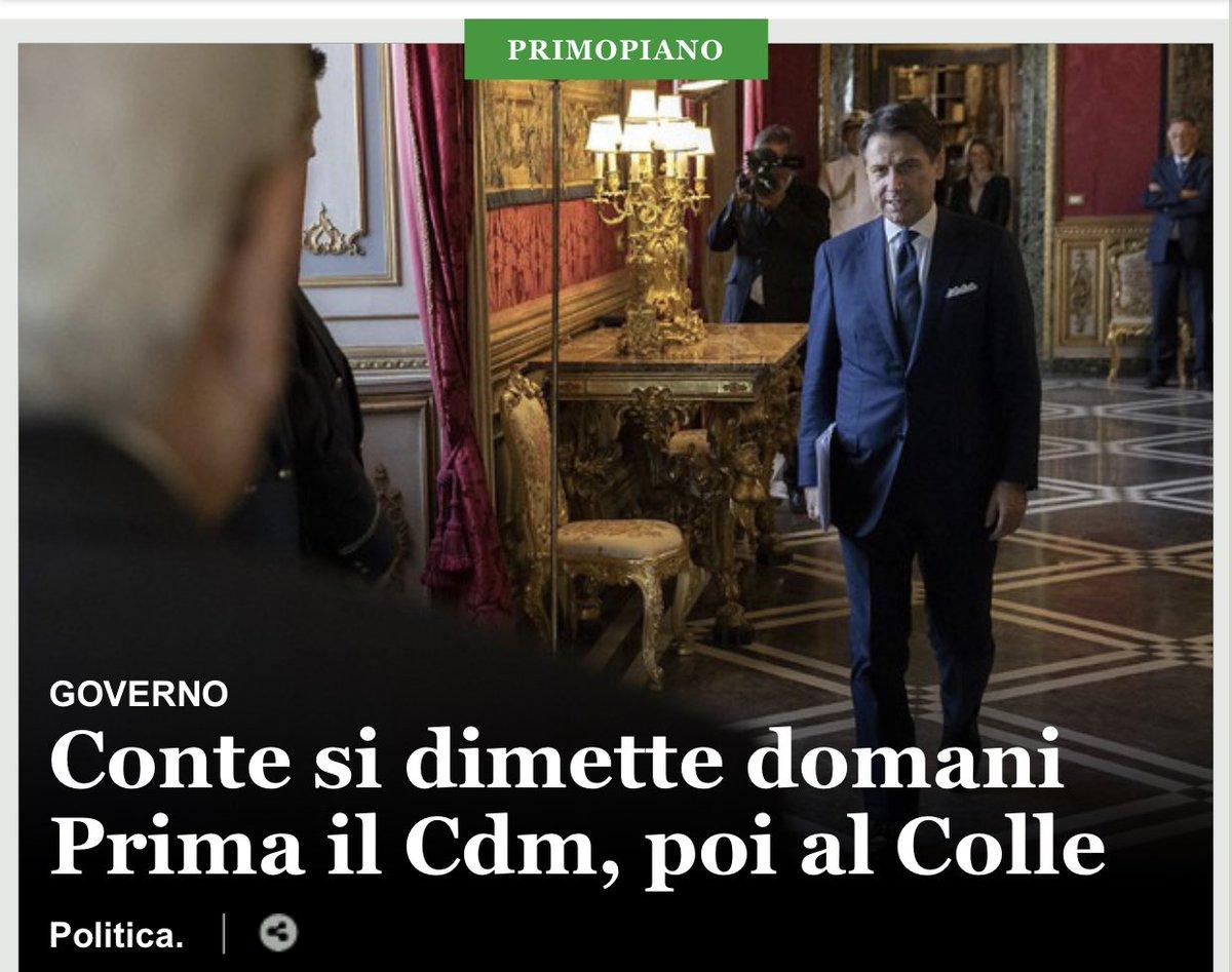 #dimissioni
