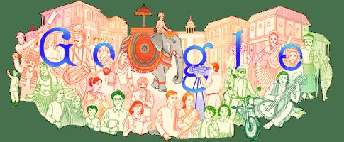 Fun with Google Doodles: India Republic Day 2021 #googledoodle