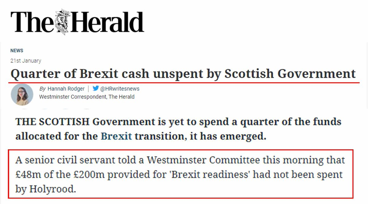 @GavinDAlexander @DonaldCMacleod @SandraWhiteSNP @joannaccherry @theSNP @wearethentia @SLTAssociation @st_alliance @UKHofficial @heraldscotland @ScotChambers @Iromg @thisisgoradio @TheSLTN @ScotGovFM @scotgov @NicolaSturgeon @afneil Again? How would I know how the finances were spent? Im not on Nicolas speed dial! Its the fact that they WERENT spend thats the bone of contention, not on WHAT they were spent. Clearly, Nicola playing politics. Nothing wrong, just totally transparent game-playing.