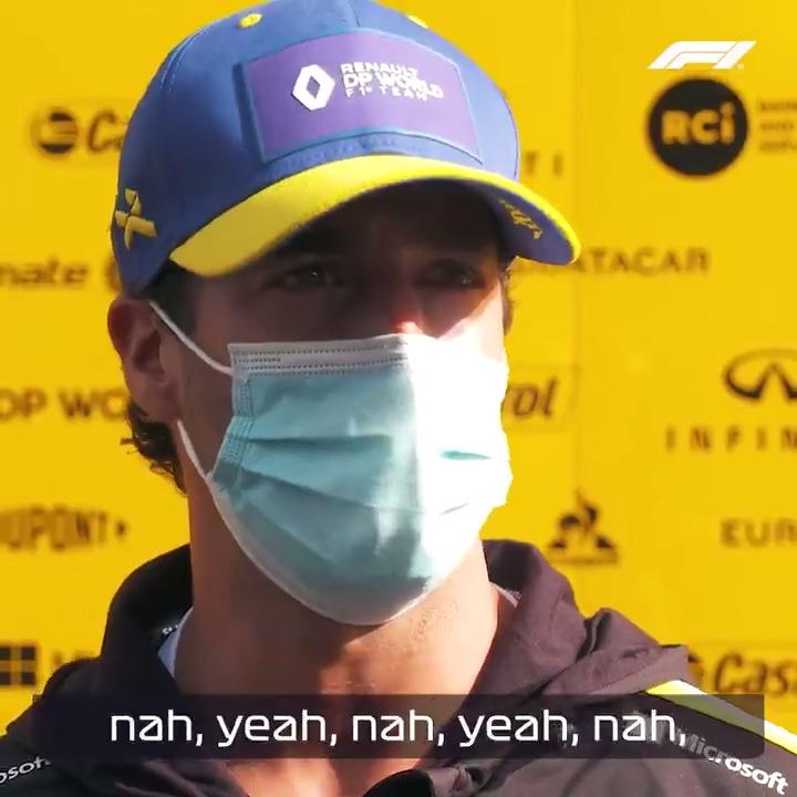 Did you know @danielricciardo speaks fluent Australian? 🇦🇺  #F1 #AustraliaDay
