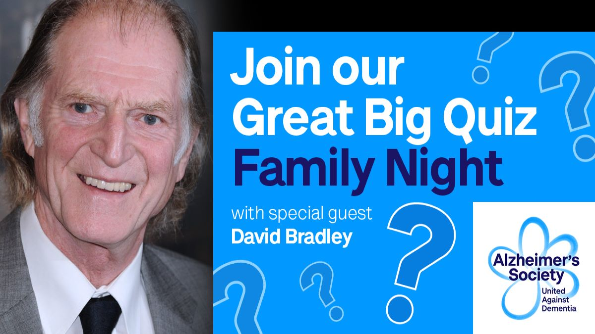 Find out who is the brainiest of the bunch in our Great Big Quiz Family night, with David Bradley, of Harry Potter and Game of Thrones fame, and Quizmaster Paul Jackson. 🎉 Sign up here: