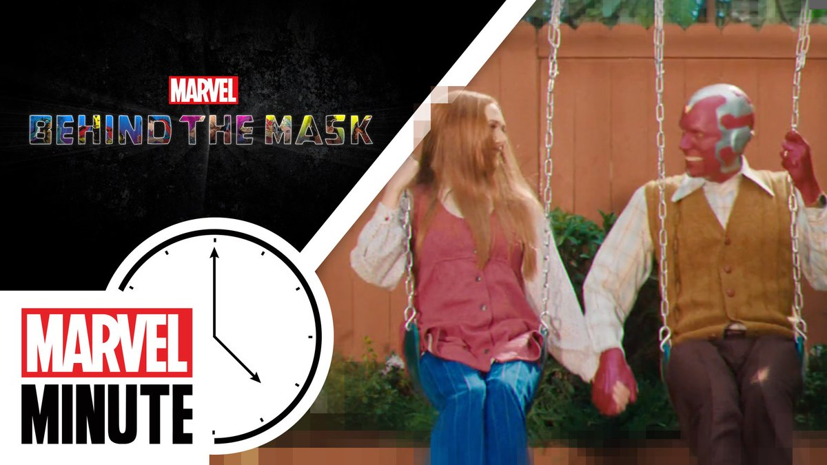 Marvel Studios' #WandaVision! Marvel's Behind the Mask! A new Shuri story! It's time for your #MarvelMinute with @AngeliqueRoche, presented by @CitizenWatchUS.