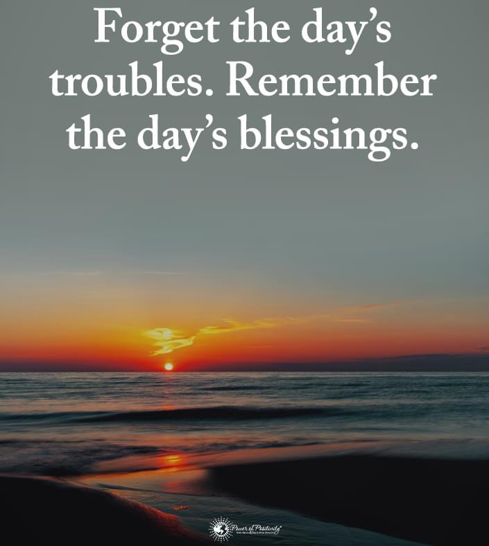 Here's your #mondaymotivation. Remember what matters...our blessings!   #findyoursolepurpose #podiatry #pafc #pafcway #pueblofootdoctor