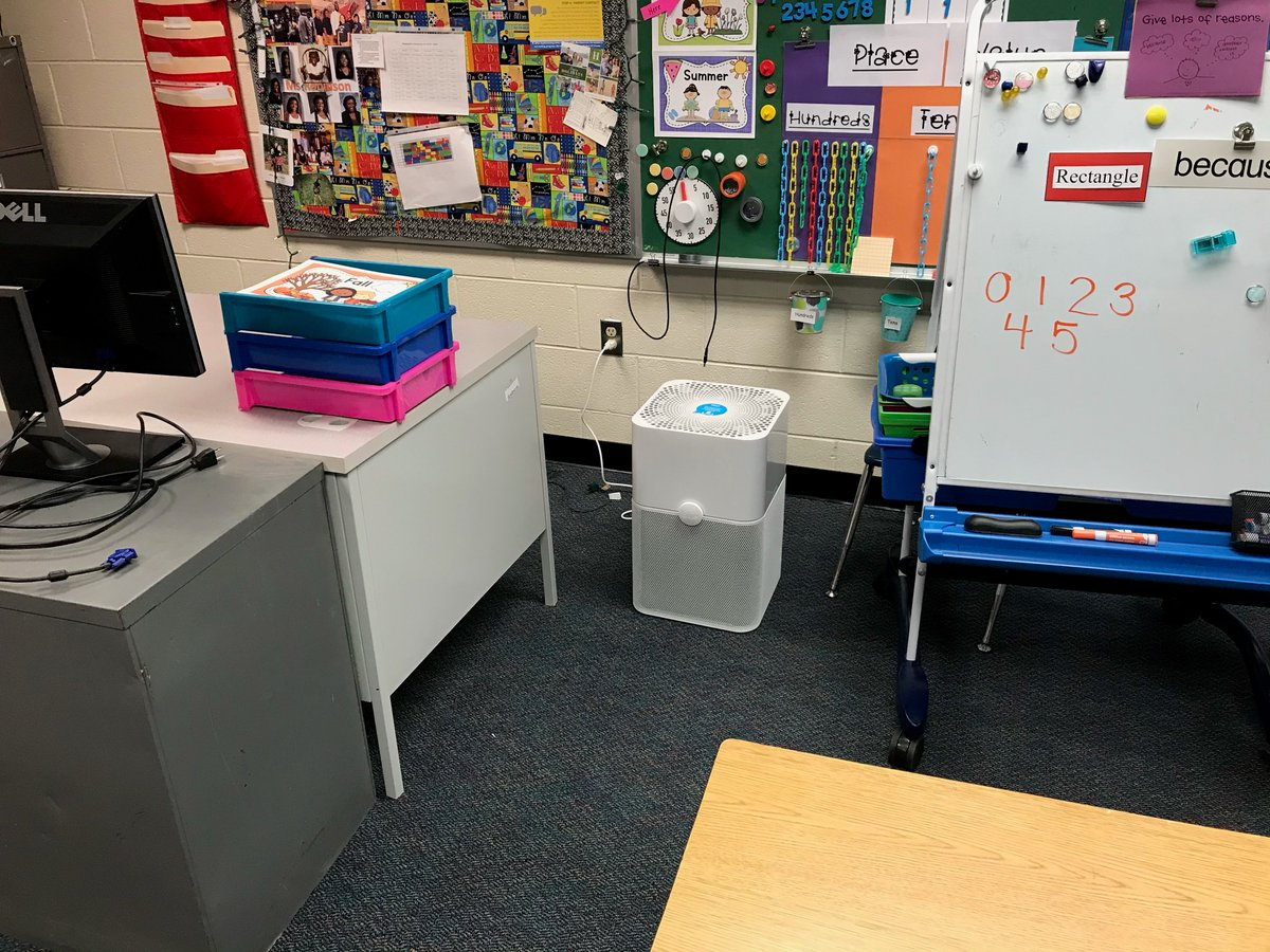 Certified Air Cleaner Devices delivered to classrooms at Long Branch. Thanks to <a target='_blank' href='http://twitter.com/APSVirginia'>@APSVirginia</a> <a target='_blank' href='http://twitter.com/APSFacilities'>@APSFacilities</a> <a target='_blank' href='http://twitter.com/APSReady'>@APSReady</a> for getting these delivered to our school and getting them hooked up! <a target='_blank' href='http://twitter.com/longbranch_es'>@longbranch_es</a> <a target='_blank' href='https://t.co/DyKGO7ZMr9'>https://t.co/DyKGO7ZMr9</a>