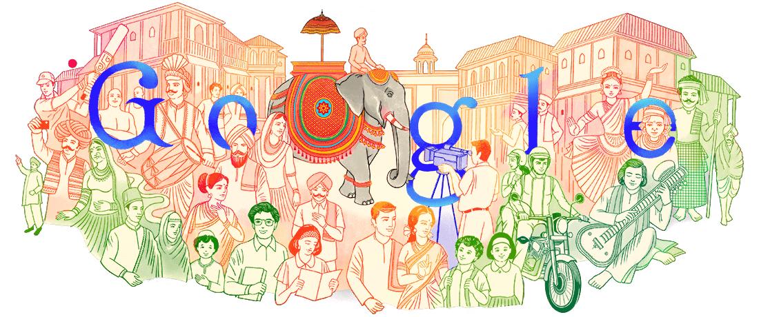 Google del dia January 26, 2021 India Republic Day 2021 #Google #GoogleDoodle