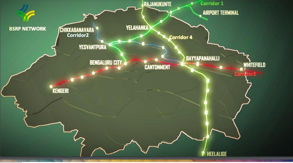 Suburban Rail Map