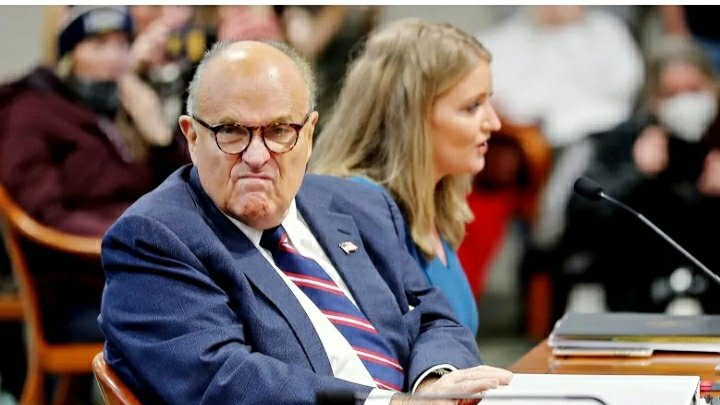 "Meanwhile in #Canada  ""Toronto's Dominion Voting Systems sues Rudy Giuliani for $1.3B US"" #RudyGiuliani #DominionVotingSystems #cdnpoli #USPolitics #lawtwitter #Lulz"