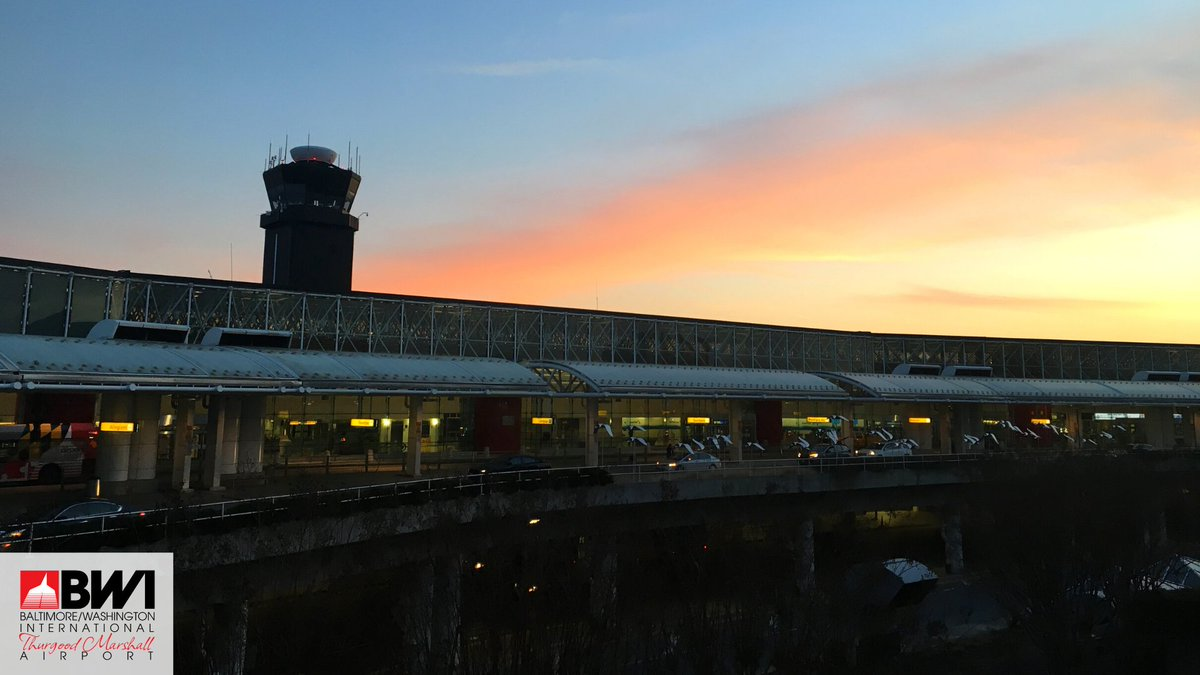 From sunsets to airplanes to views throughout the BWI Marshall Airport terminal, add one of our virtual backgrounds to your next meeting.   More:  #BWIatHome #SceneAtBWI #MDOTscenes #WFH #mondaymotivation