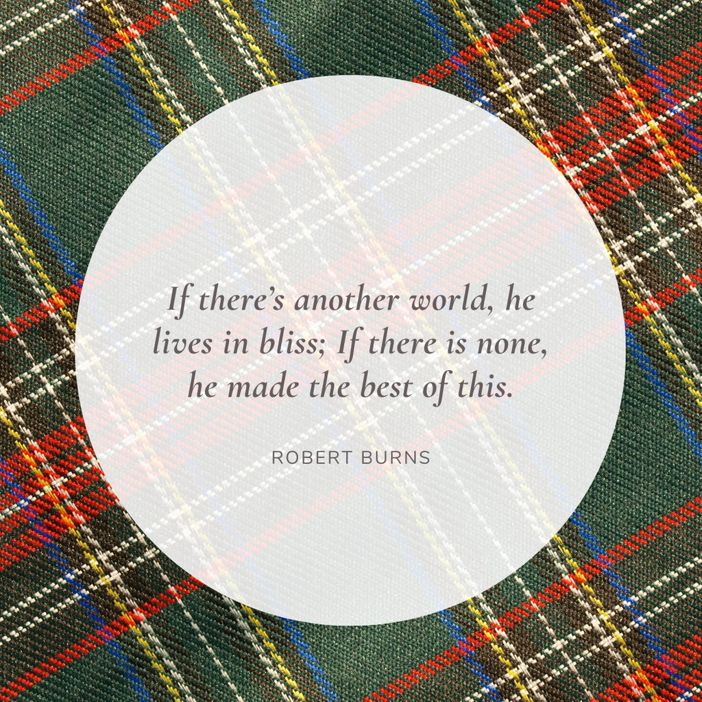 For Burns Night, from 'Epitaph on my own Friend'. #grief #grieving #griefquote #bereavement #bereaved #poem #poetry #literature #RobertBurns #RabbieBurns #BurnsNight #Scotland #Scottish