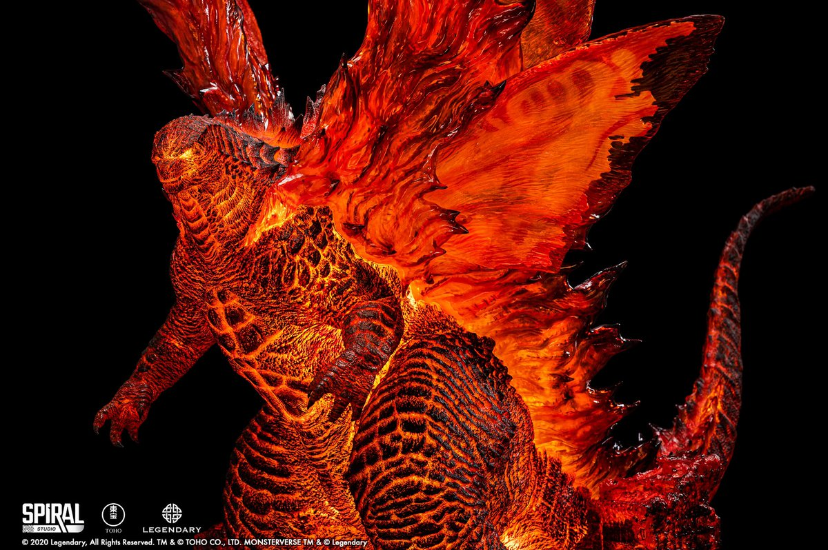 The new Ultimate Masterline: Battle in Boston Series - Burning Godzilla Deluxe Edition statue by Spiral Studio in collaboration with Tanaka Studio and Matt Frank has been revealed. Pre-orders for the statue will start on January 27 at 3:00pm GMT+7 on Spiral Studio's website.