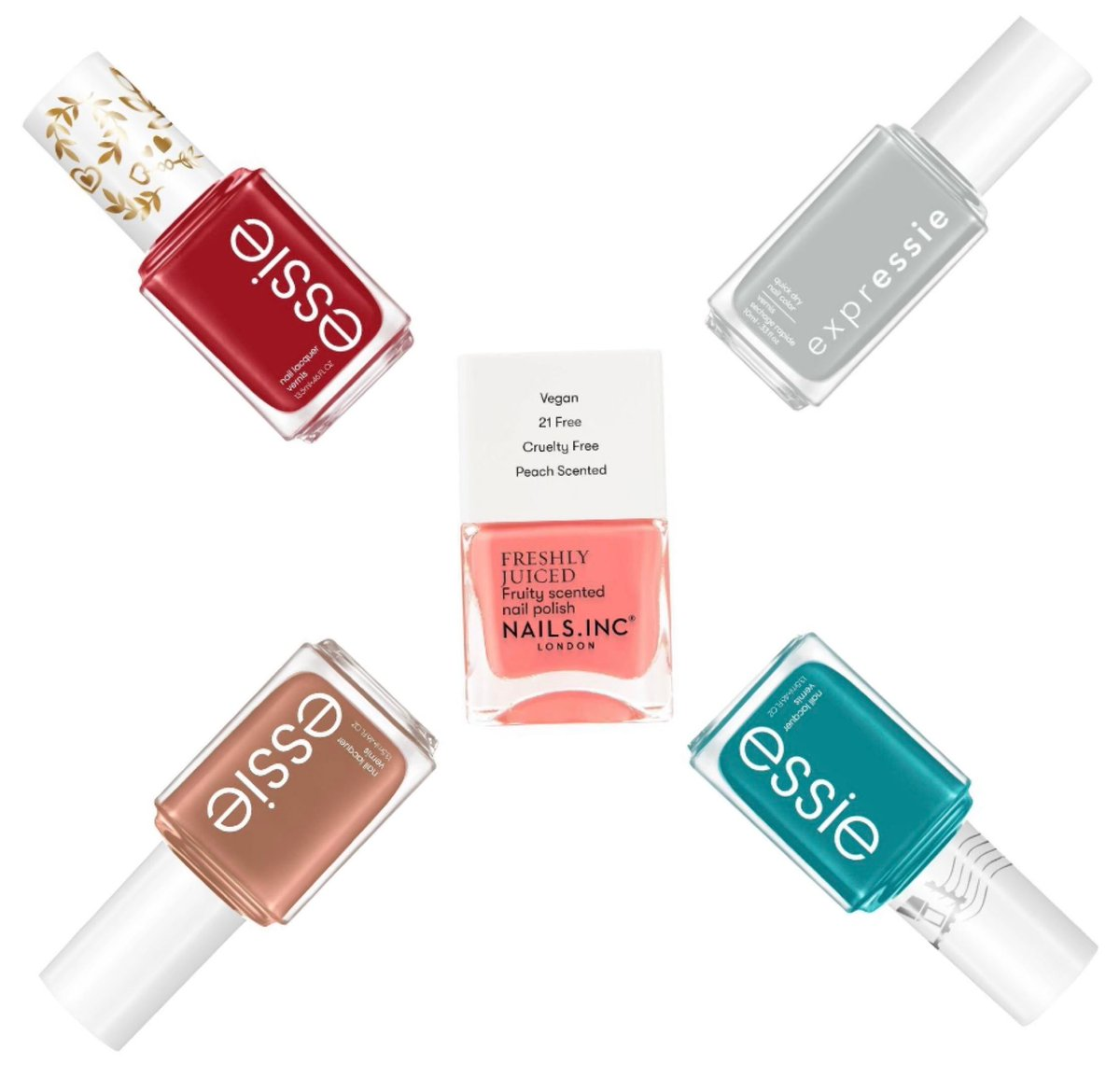 Target: new Essie nail polish collections available (online and in-store) and now carrying Nails Inc  #beauty #beautydeals #muaonthecheap