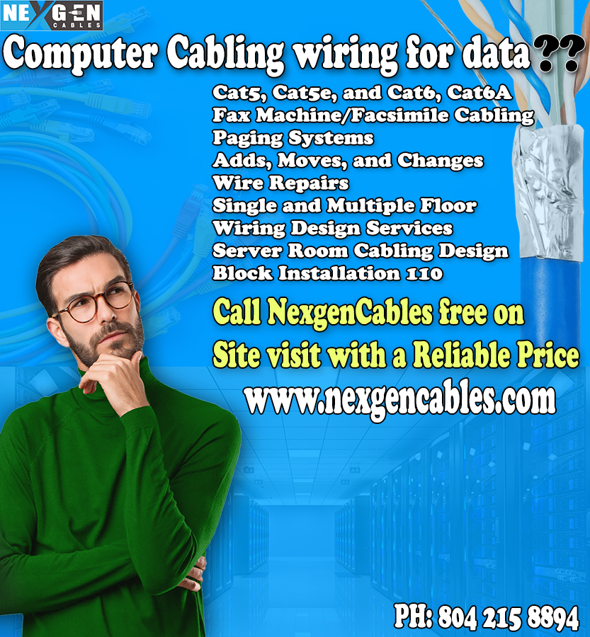 You are Cable & Wiring Installation Service?? Run the right voice and network cabling now,  #cables #cable #cat #audio #cablemanagement #wires
