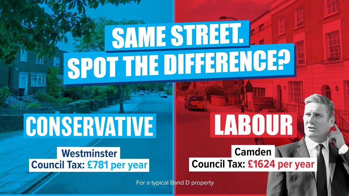 """Labour are trying to create a row about #CouncilTax That's an """"interesting"""" tactic."""