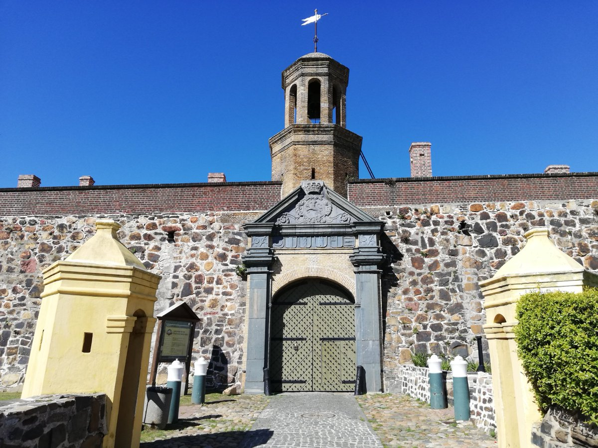 Entrance To The Castle, The Oldest Building In Cape Town Check out Allan's travels   #YouTubers #Travel #travelblogger #Peace #beauty #Castle #Gate2021 #tourism #bluesky #Video