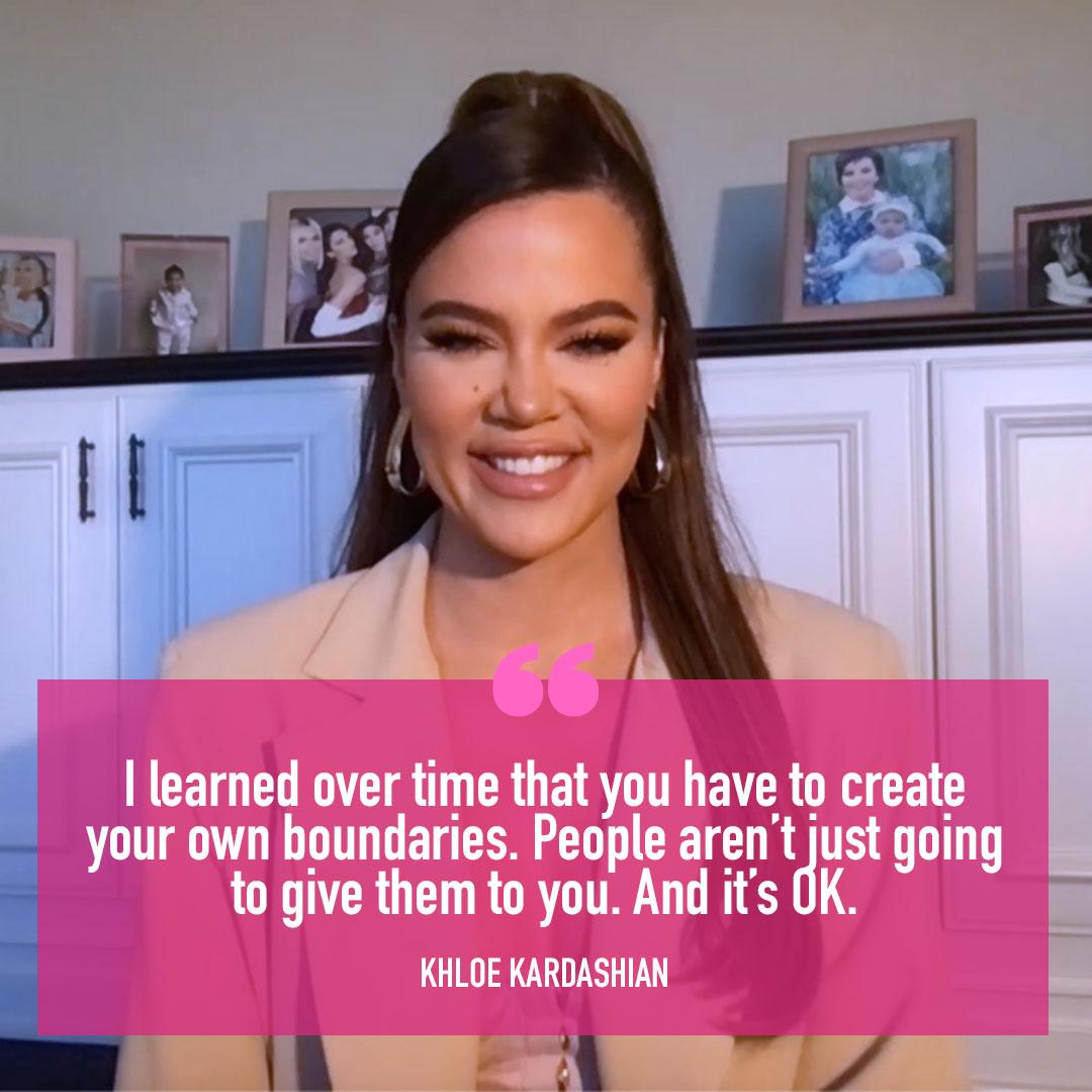 .@khloekardashian Stresses Importance Of Setting Boundaries   WATCH:   #KellyClarksonShow
