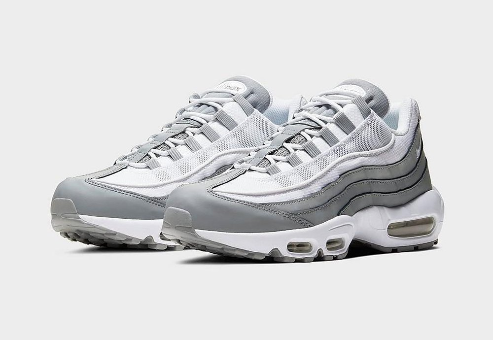 #ad The Nike Air Max 95 'Particle Grey' is now available via @FinishLine for $155! (use code SNOWBALLSOHARD - retail $170) #SneakerScouts @Nike