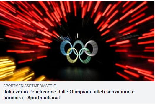 #Olimpiadi