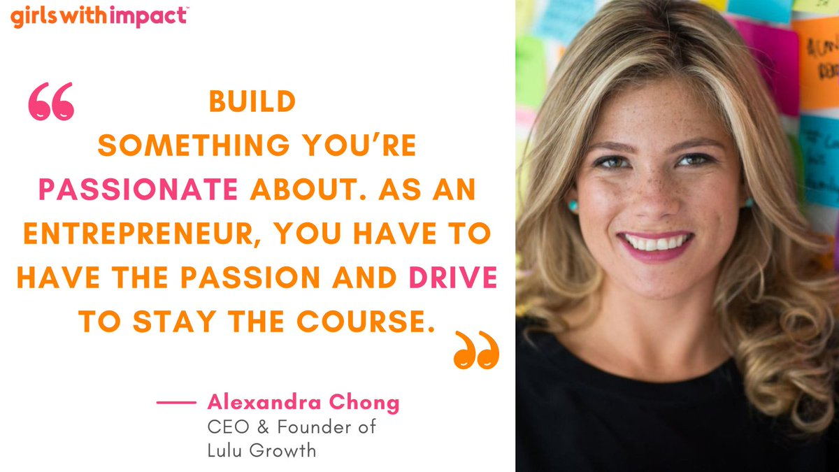 Looking for some #MondayMotivation?  Alexandra Chong, CEO and founder of Lulu Growth, a private networking app for girls only, is all the motivation you need this Monday.   #Lulugrowth #ceo #alexandrachong