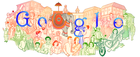 India Republic Day 2021 ➡ [] #GoogleDoodle